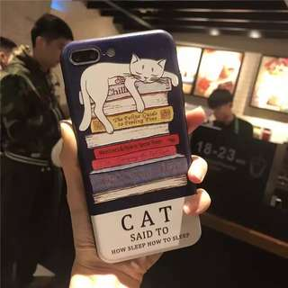 Cute and Lazy Cats 2 motives iPhone 7 Casing