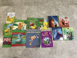 Preloved books for preschoolers