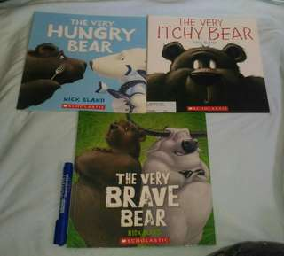 Bear Story books by Nick Bland New