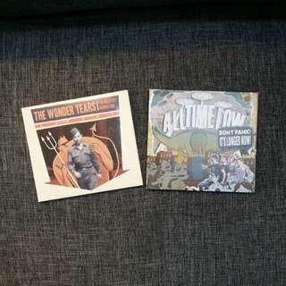 2 for 800! CDs - The Wonder Years and All Time Low