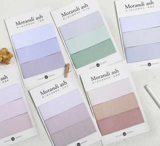 💓 3 Colour Ombre Notepad