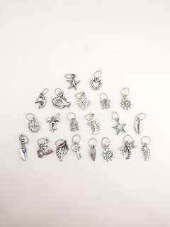 Lot of 66 Charms