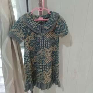 Dress Batik Merek Batik Keris