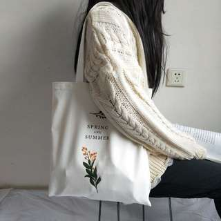 Spring and Summer Tote Bag