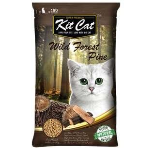 Kit Cat Natural Pine Litter 40lb - $29.00 / 2 For $50.00