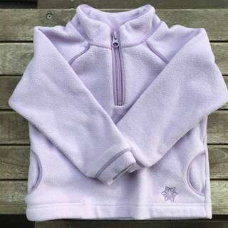 3T Old Navy Lilac Fleece Pullover