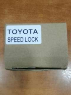 Toyota OBD Speed Lock