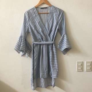 Forme Striped Casual Dress