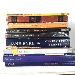 Literature NOVEL textbooks