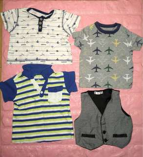 BABY BOY SET TOPS