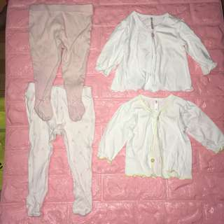 BABY GIRL SLEEP WEAR SET