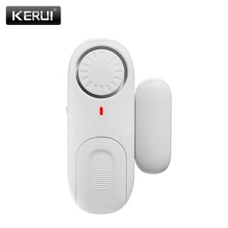 Magnetic Door security protection Alarm (wireless, using battery).