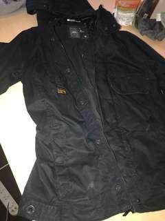 Rain coat zip doesn't do up neg