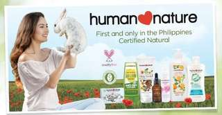 Human Nature Products - 8% Discount (3 or more items)