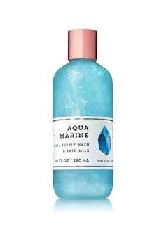 Bath & Body Works:  Mineral Co Aquamarine   2 in 1 Bubbly Wash & Bath Milk 290 ml