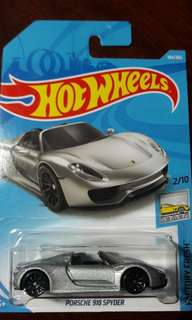 2018 Hot Wheels Porsche 918 Spyder
