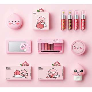 FACESHOP x APEACH COLLECTION <PRE-ORDER> DIRECT FROM KOREA