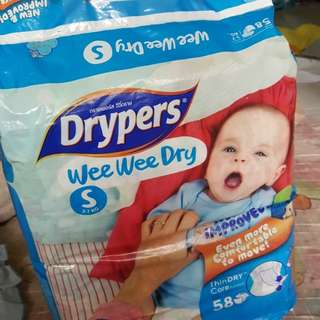 Diapers wee wee Dry size S