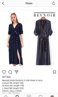 Navy dress new!