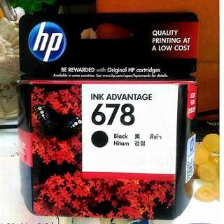 HP Ink Advantage 678 BLACK/COLORED