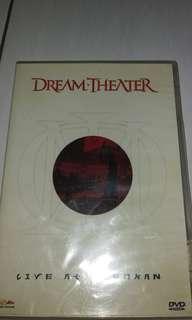 Dijual dvd original film konser dream theater (bluray)