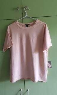 F21 ripped shirt