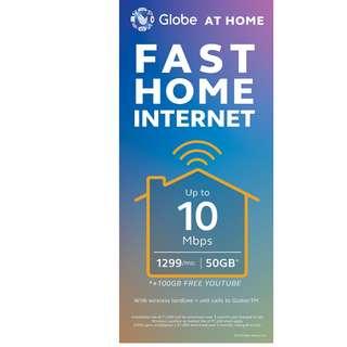 Globe Fast internet