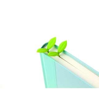 (原價$58!) 韓國製萌萌小葉書籤 Silicone Sprout Bookmark Made in Korea