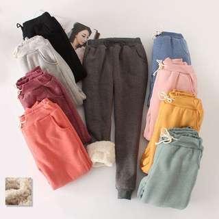 Pants Winter Thick Fleece PO