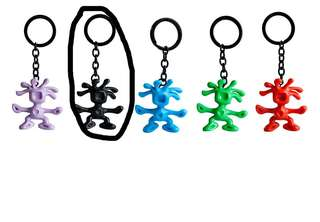 I'm looking for Crumpler man keychain black colour.