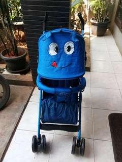 Stroller Bayi , baby walker , bouncer