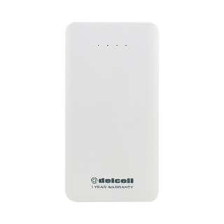 DellCell Power Bank Compact 10500 MAh -  White