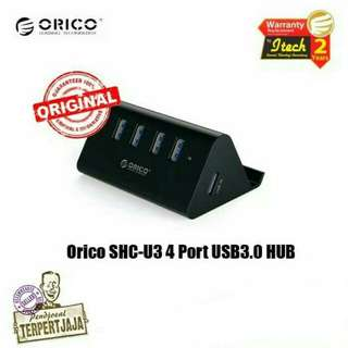 Charger Orico SHC-U3 4 Port USB 3.0 Hub With Phone And Tablet Stander Fast Charging