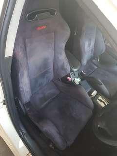 Recaro Car Seat - lancer ex