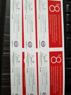 Esso petrol discount voucher coupon may and june