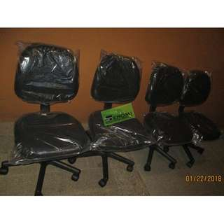 AC023 CLERICAL CHAIR BLACK FABRIC--KHOMI