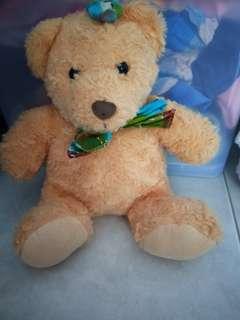 Preloved Soft & cudddly brown bear