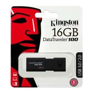 Kingston DataTraveler 100 G3 (DT100G3) 16GB
