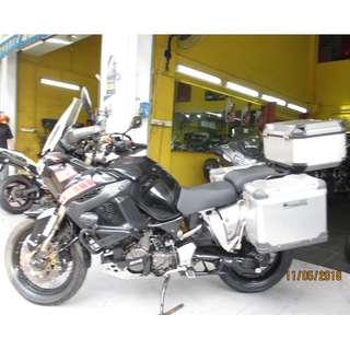 Yamaha Super Tenner xt1200 2011 D/P $1500  With Out Insurance  (Terms and conditions apply. Pls call 67468582 De Xing Motor Pte Ltd Blk 3006 Ubi Road 1 #01-356 S 408700.