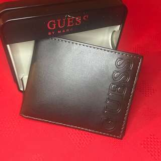 👌 authentic GUESS BNWT WALLET LEATHER