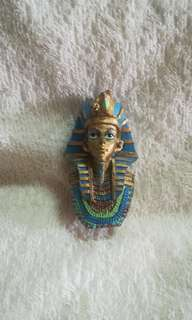 Ancient Egyptian Pharaoh King Mask Statue Decor Figurine