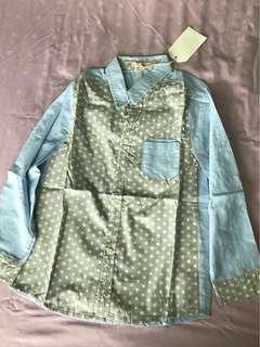 Bnwt boy long sleeveshirt