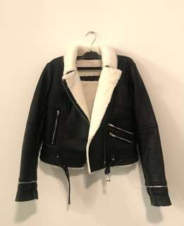 [faux] Leather Jacket