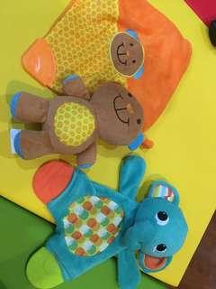 3pcs bundle teething Stuff Toys