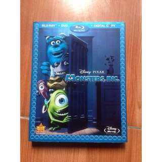 USED Monster Ins with slipcover RARE