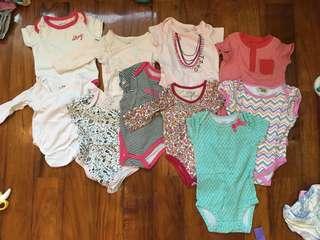 SALE! 10pcs assorted branded onesies