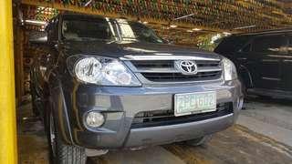 2008 Toyota Fortuner G. A/T Diesel