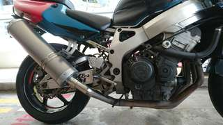 CBR 900 Two Brothers Racing Header