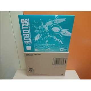 全新 BANDAI TAMASHII 魂商店 Robot魂 MS SP RX-0 UNICORN GUNDAM with SHIELD FUNNEL 235日版