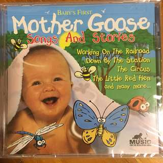 Baby's First Mother Goose songs & stories ( Children CD )